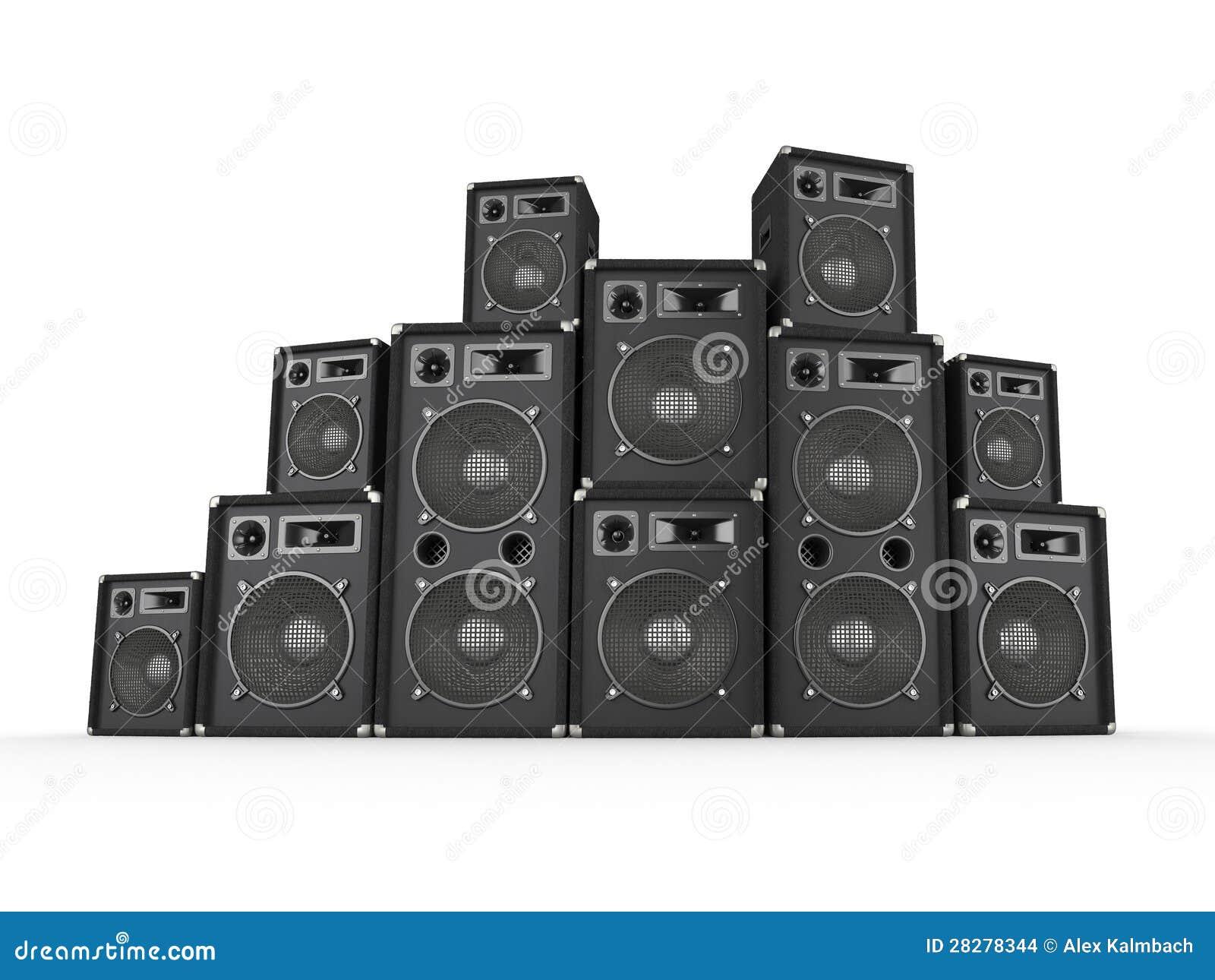 Speaker Stack Stock Illustrations 240 Vectors Clipart