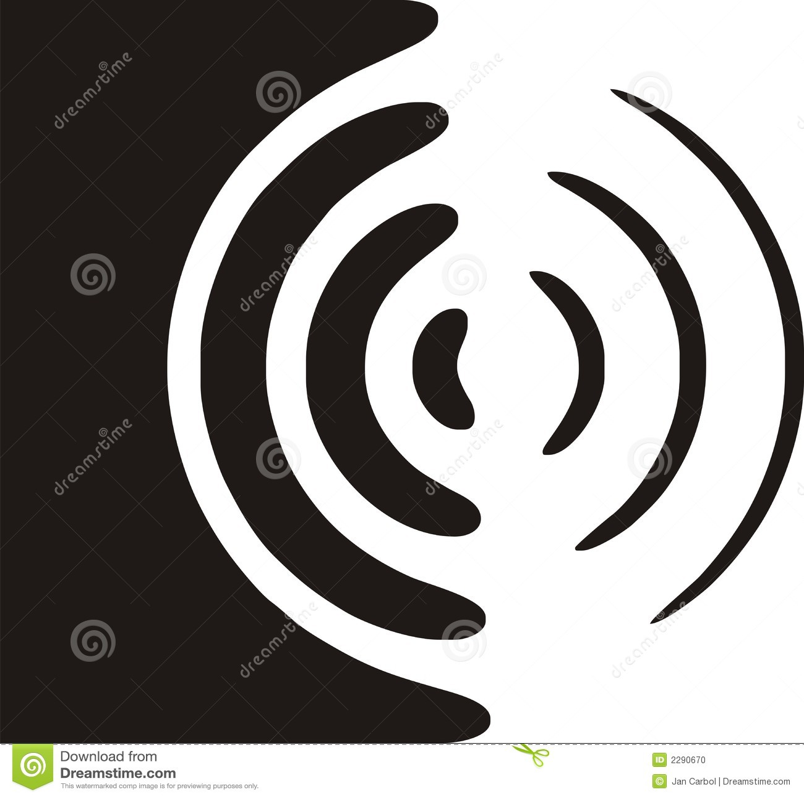 Speaker Symbol Stock Vector Illustration Of Sign Loud 2290670