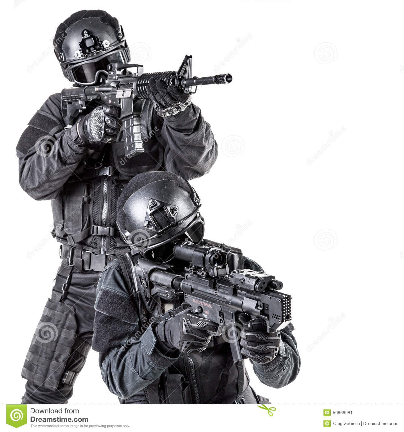 Swat Officer Spec ops police office...