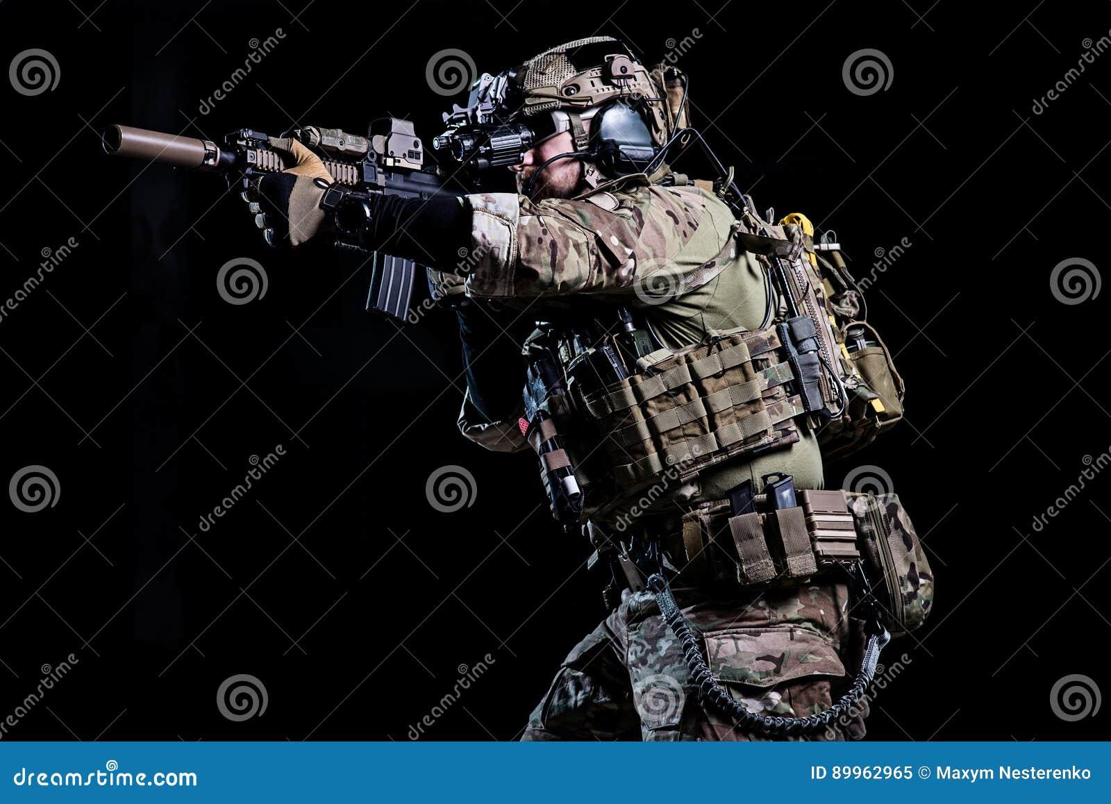 Spec ops soldier