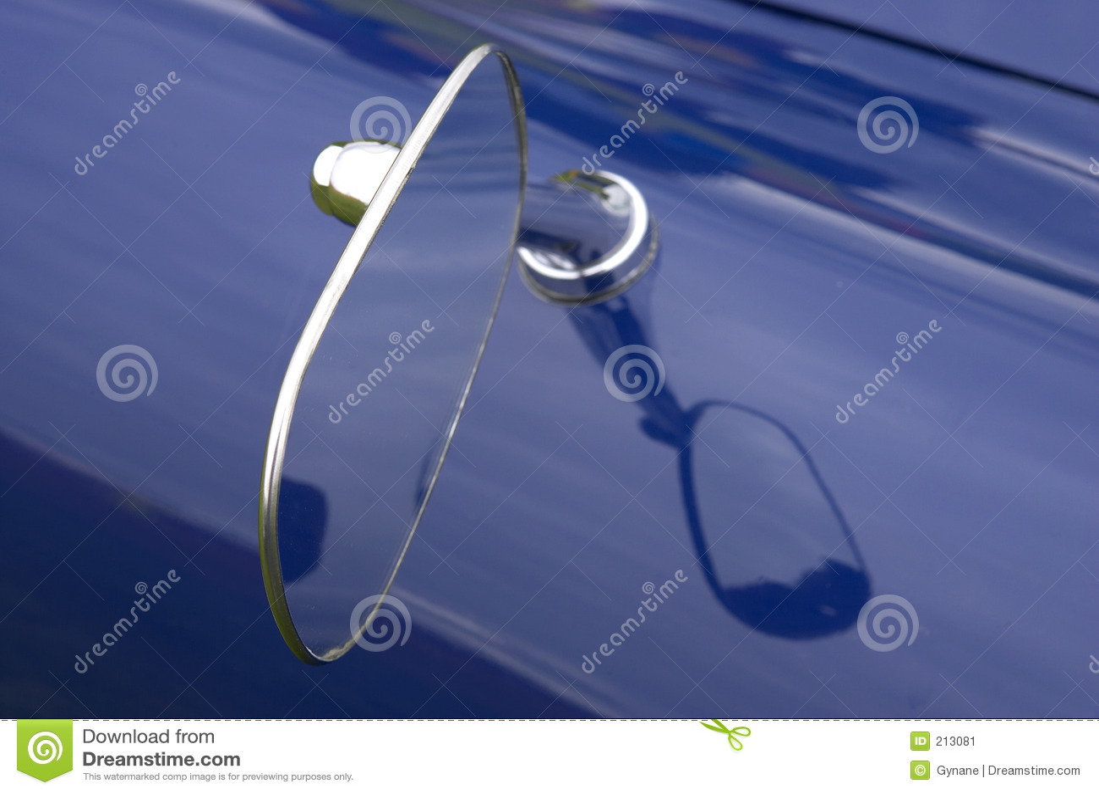 Specchio di ala dell automobile