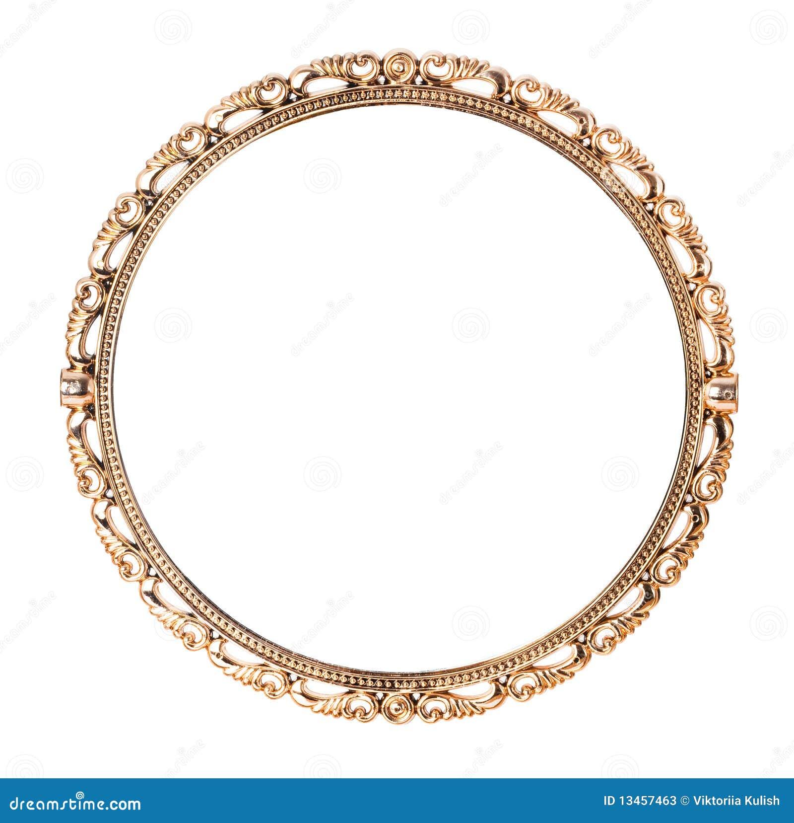 Specchio dorato antico immagine stock immagine di dorato 13457463 - Specchio dorato antico ...