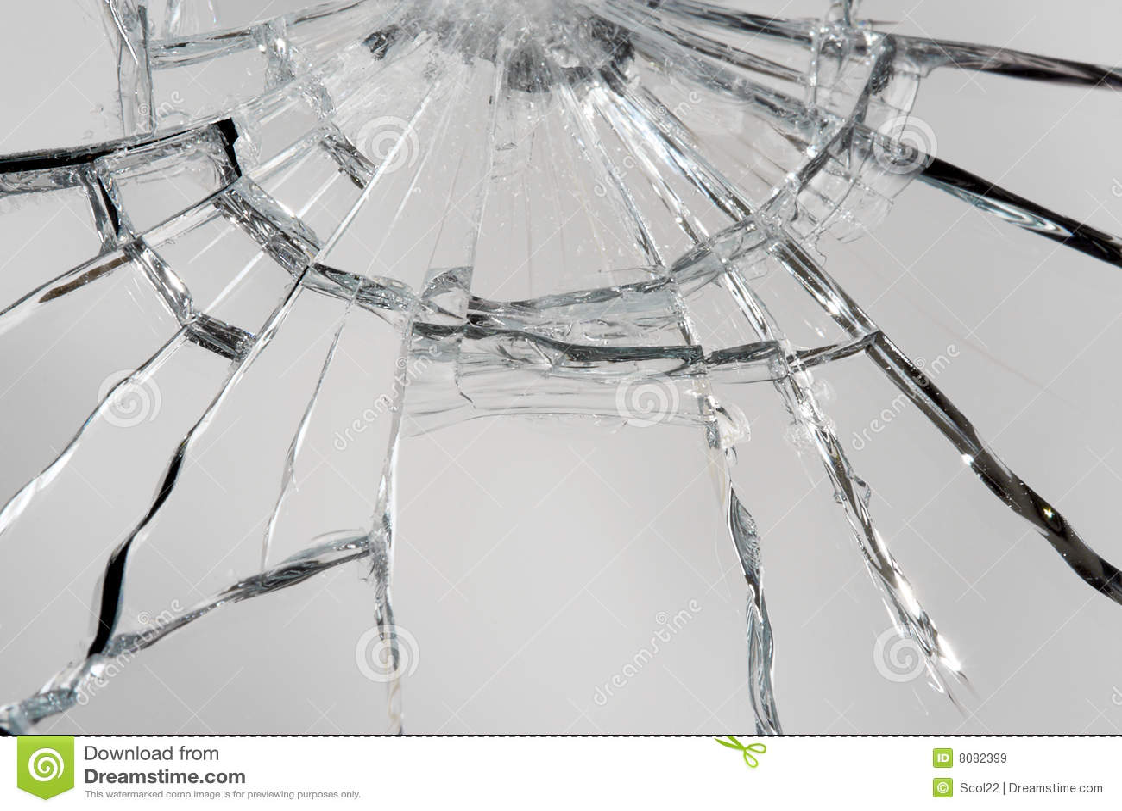 Specchio rotto immagine stock immagine di danni macro - Specchio rotto sfortuna ...