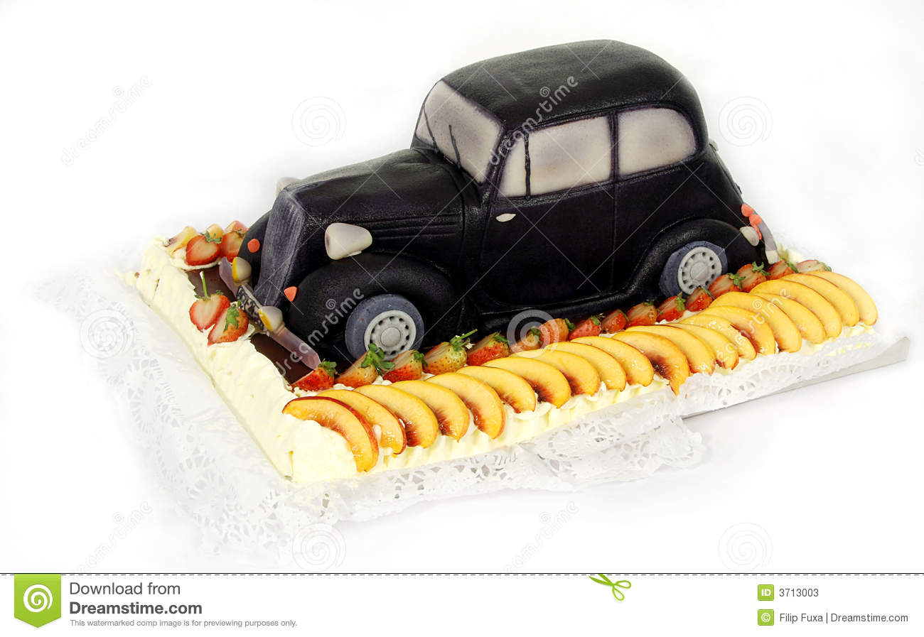 Special Cake Old Car Stock Photos Image 3713003