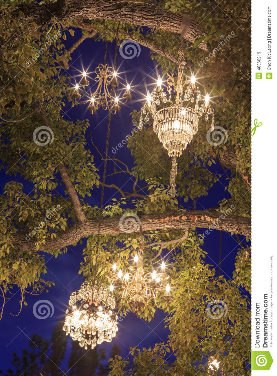Special chandelier tree at los angeles stock image image of royalty free stock photo arubaitofo Gallery
