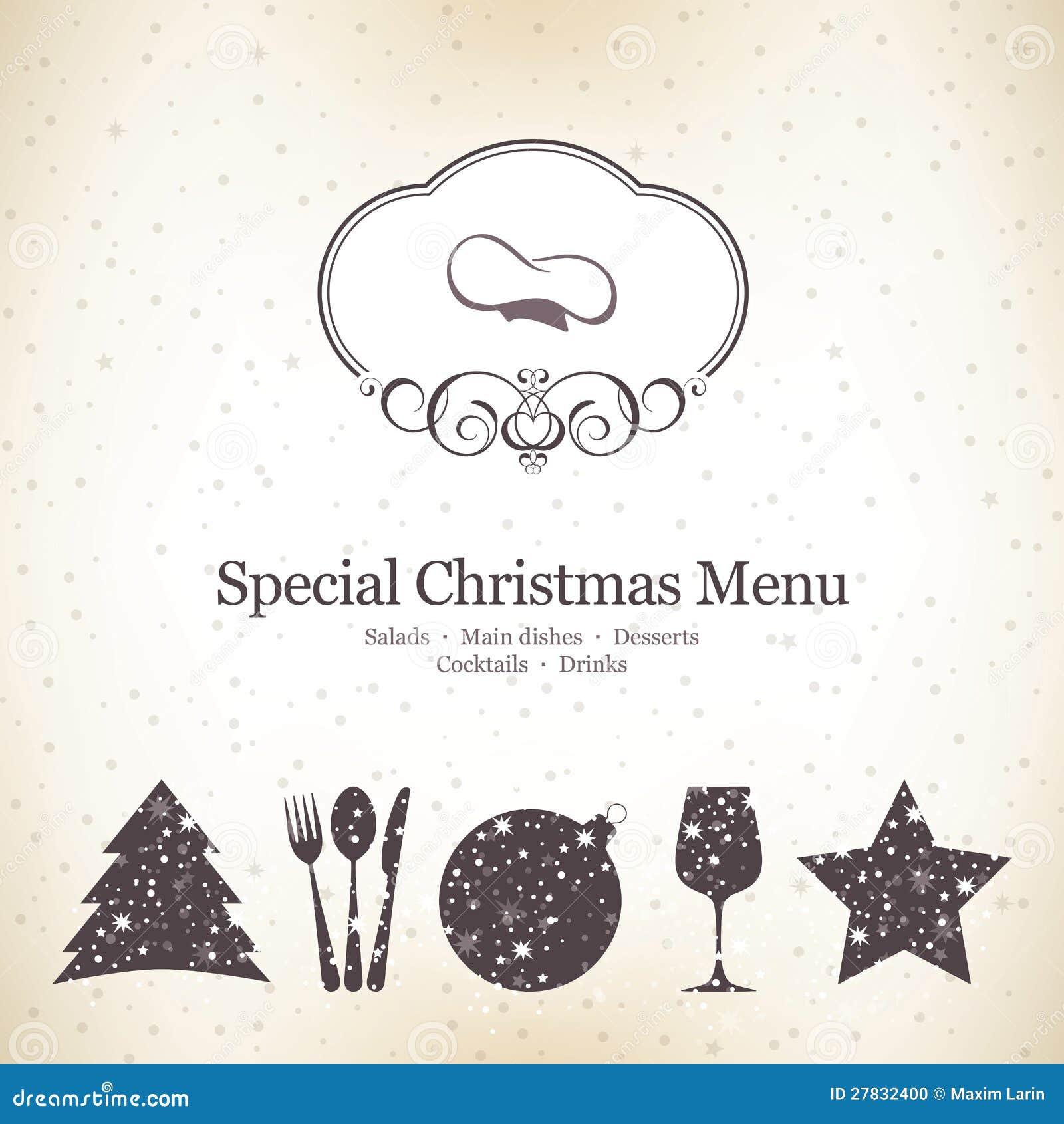 christmas menu template stock photos images pictures 2 286 special christmas menu design stock photo