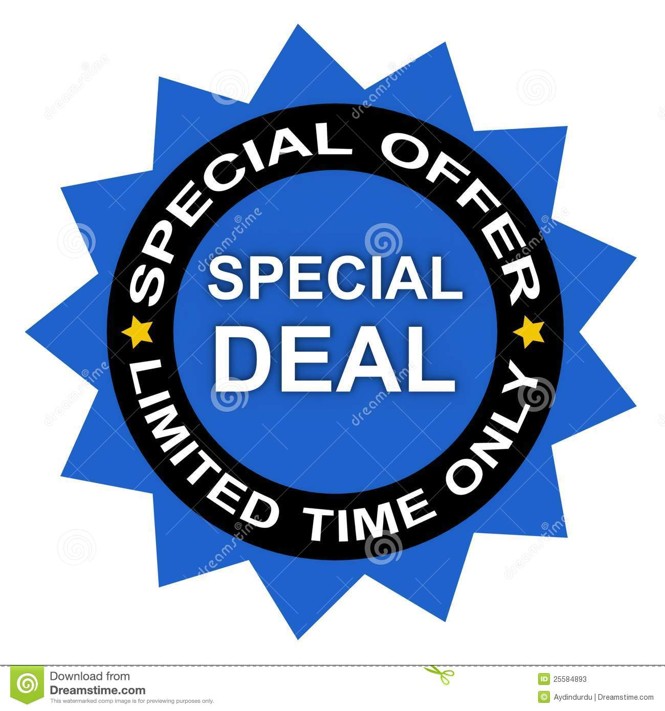 793738518 Special limited time deal stock image. Image of promotion - 25584893