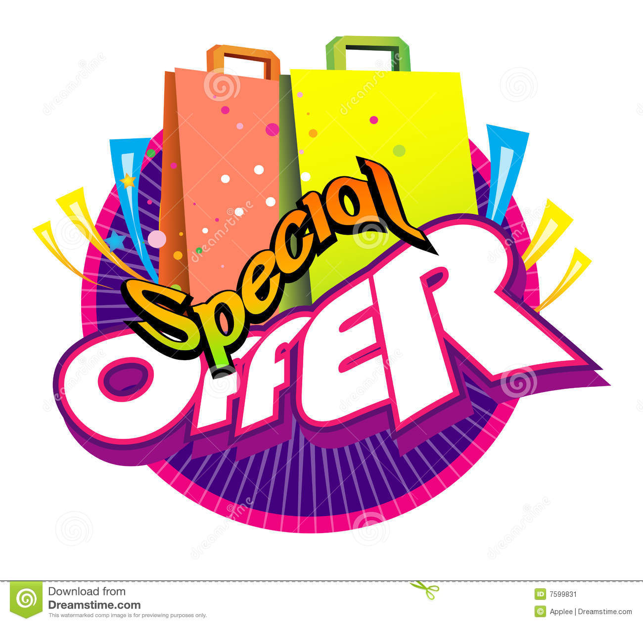 Offer: Special Offer Stock Image