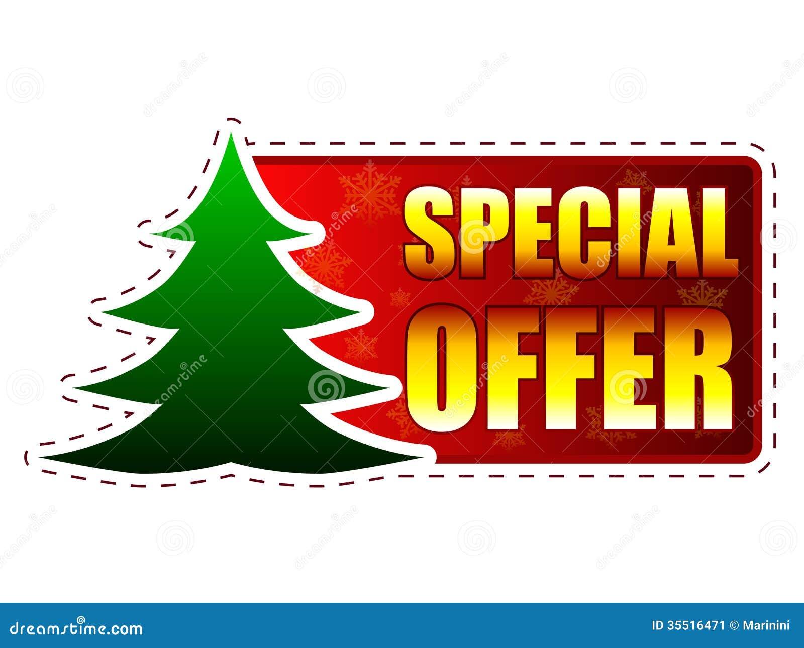 Christmas Tree Store Flyer