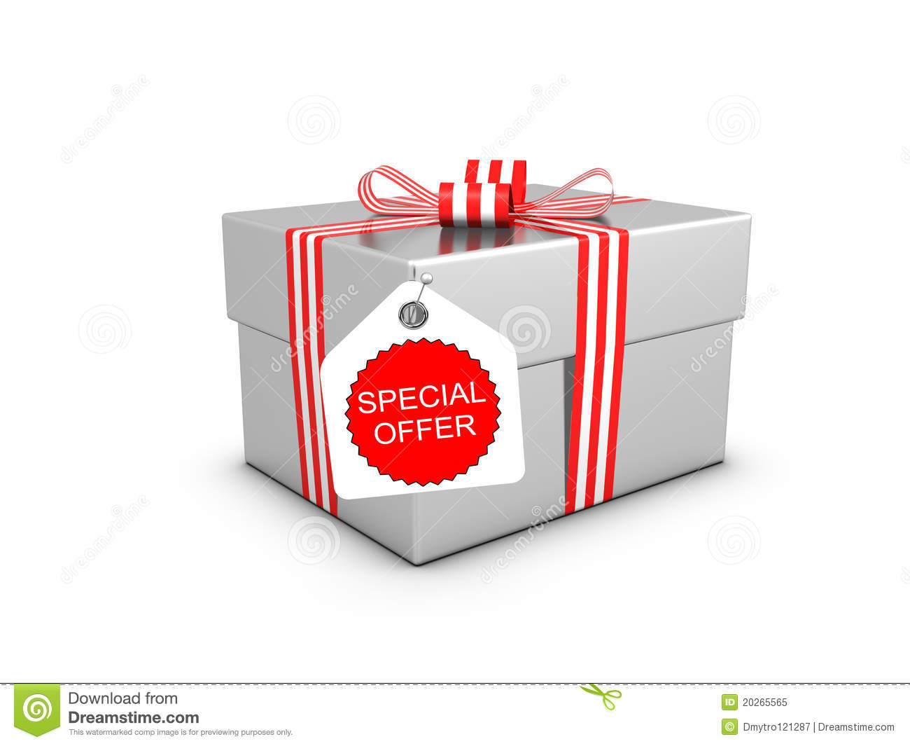 Special Offer And Gift Box Stock Illustration Illustration Of Advertise 20265565