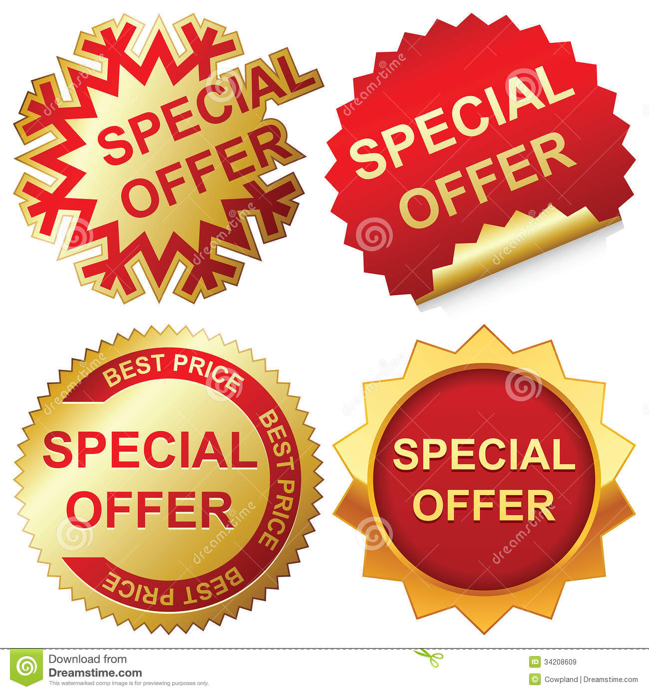 Offer: Special Offer Royalty Free Stock Images
