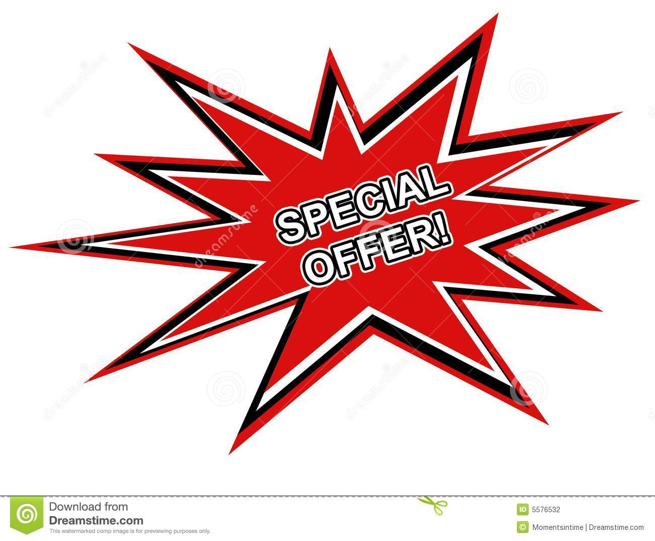 Special Offer web graphic