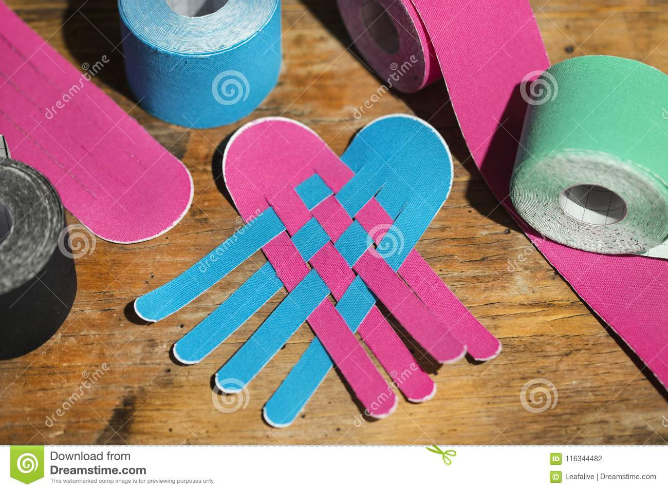 special physio tape rolling stock photo image of condition