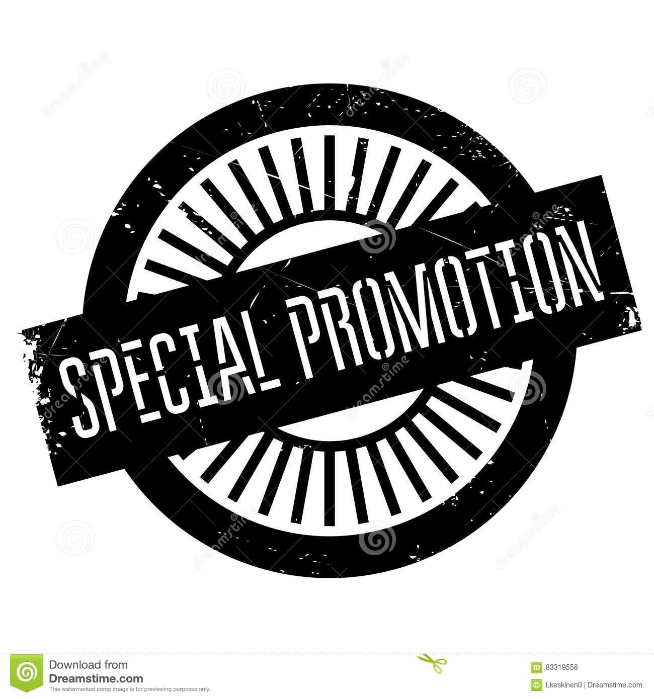 Special Promotion Stamp Cartoon Vector | CartoonDealer.com ...