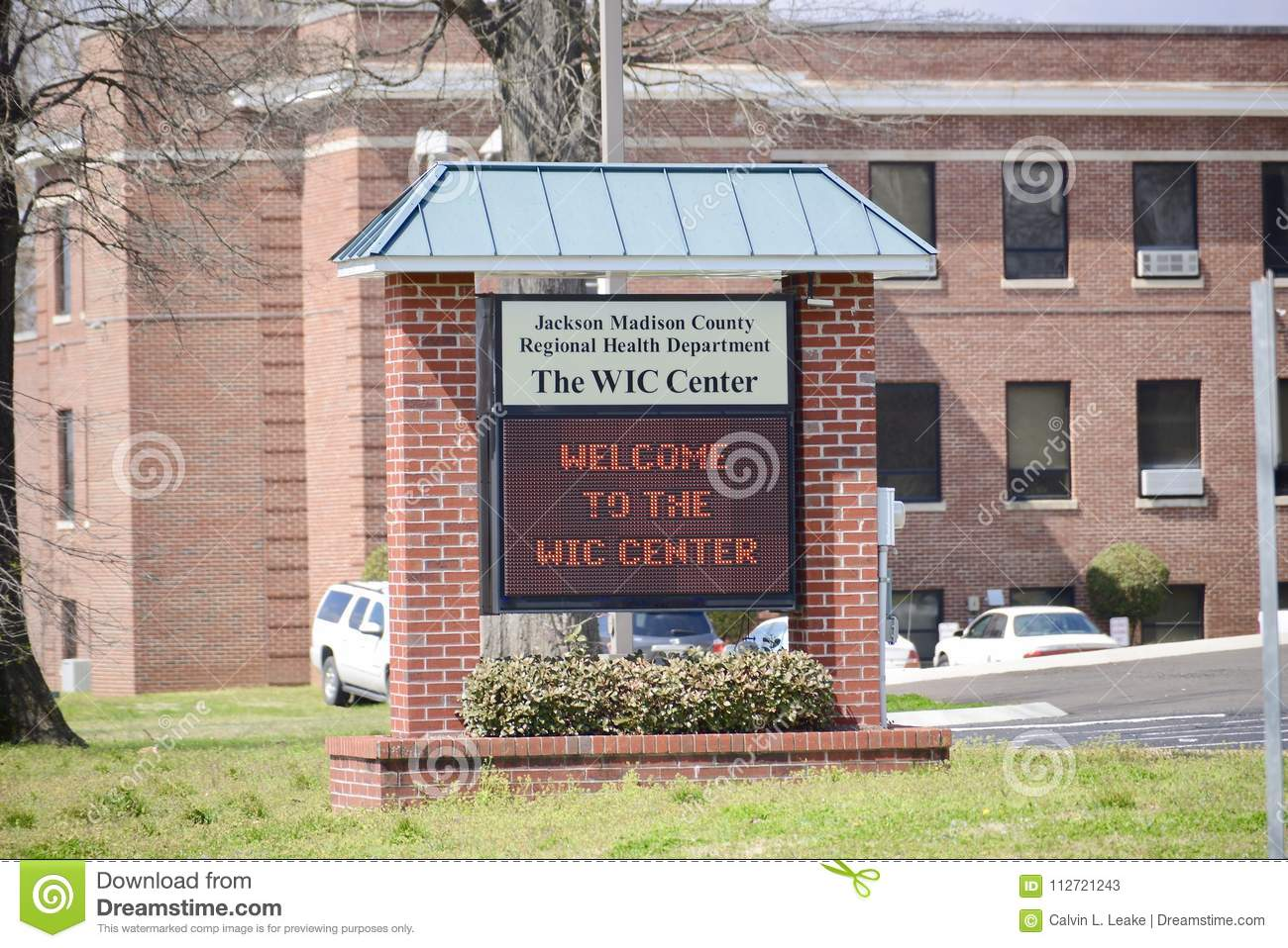 The WIC Center, Jackson, Tennessee Editorial Stock Photo