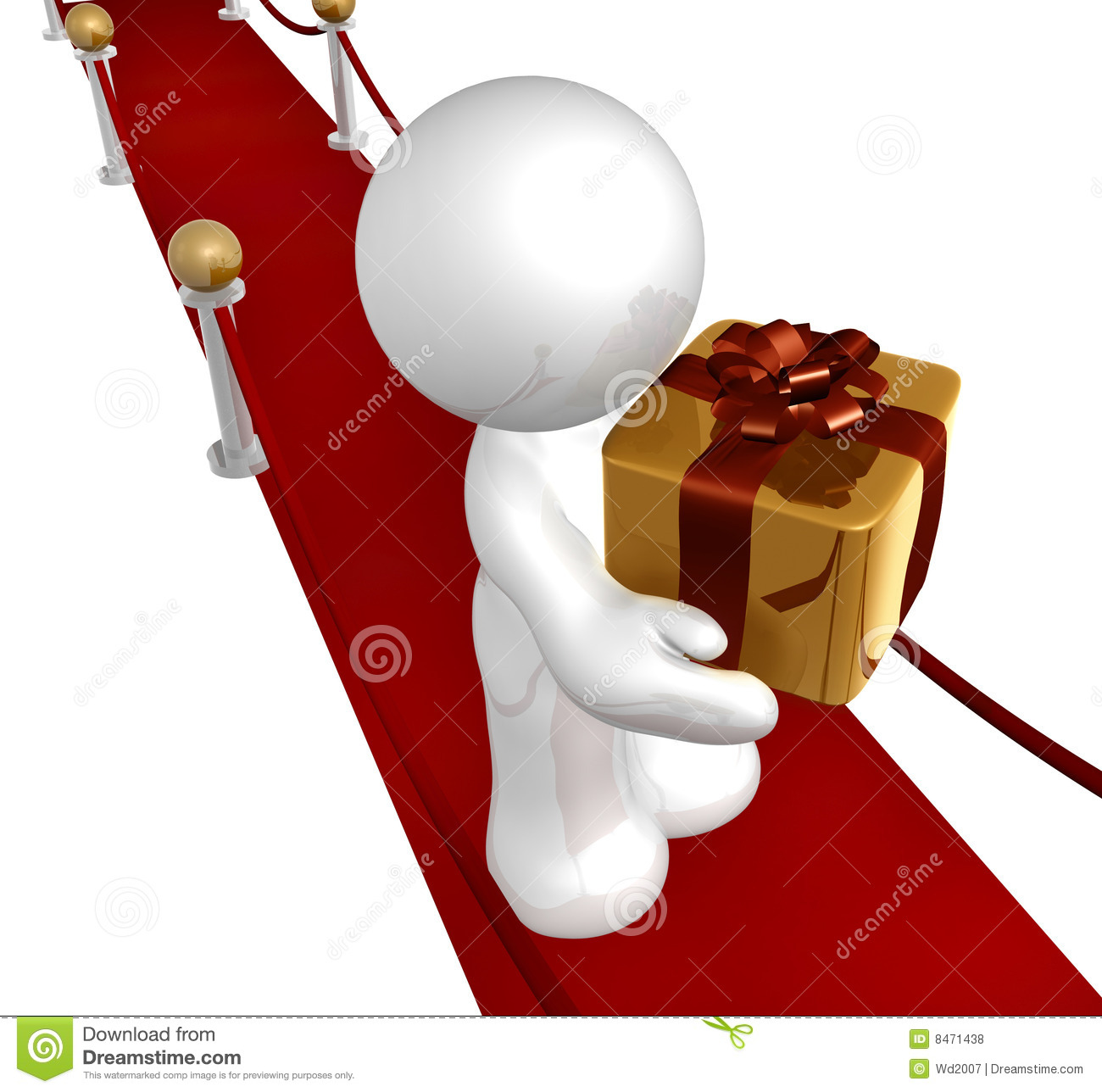 Special Surprise Gift Royalty Free Stock Photos Image