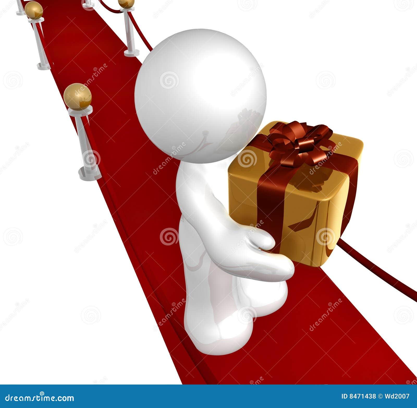 Special Surprise Gift Stock Illustration Illustration Of