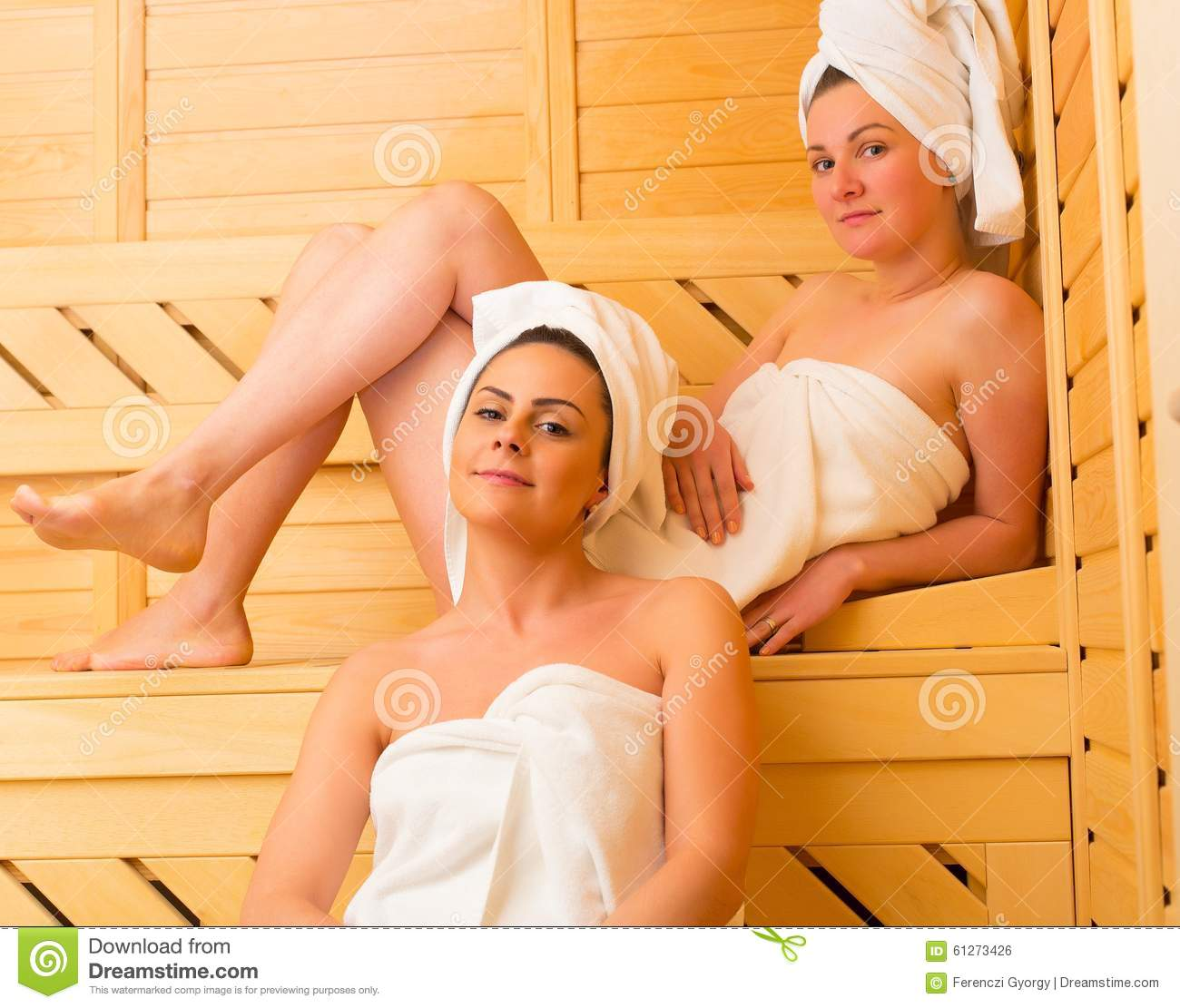 Opinion Lesbians in the sauna
