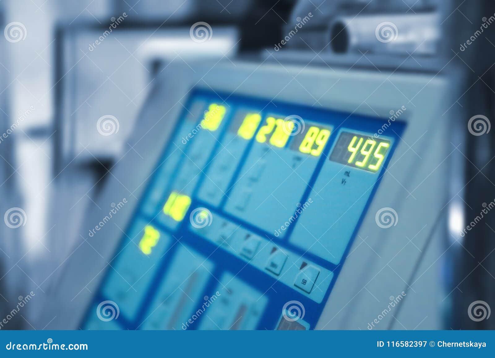 Speciale medische apparatuur in moderne kliniek