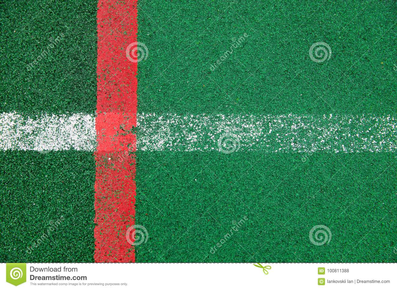 Rubber covering for sports grounds 82