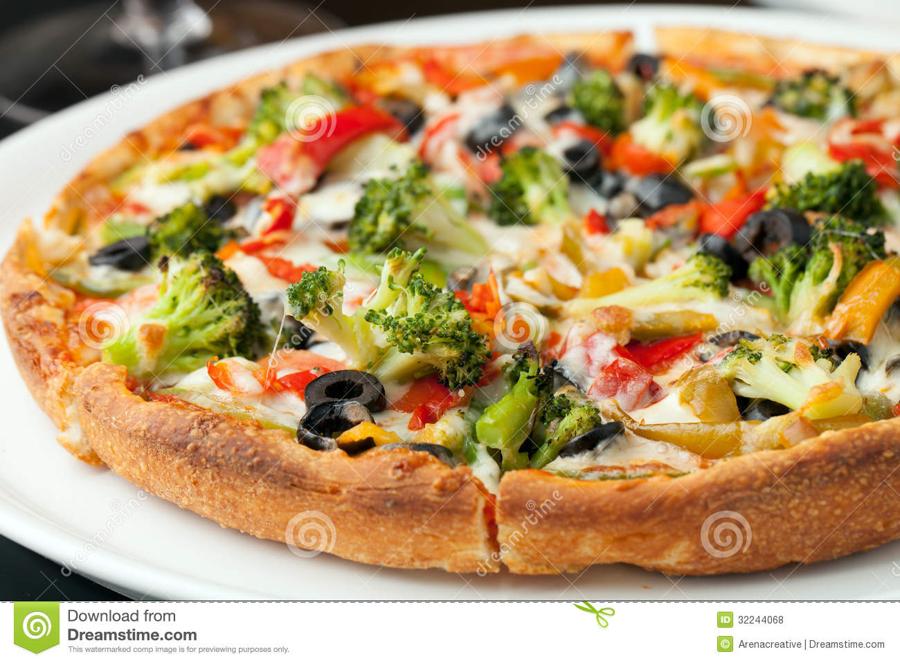 Specialty Pizza Toppings Royalty Free Stock Photos - Image ...