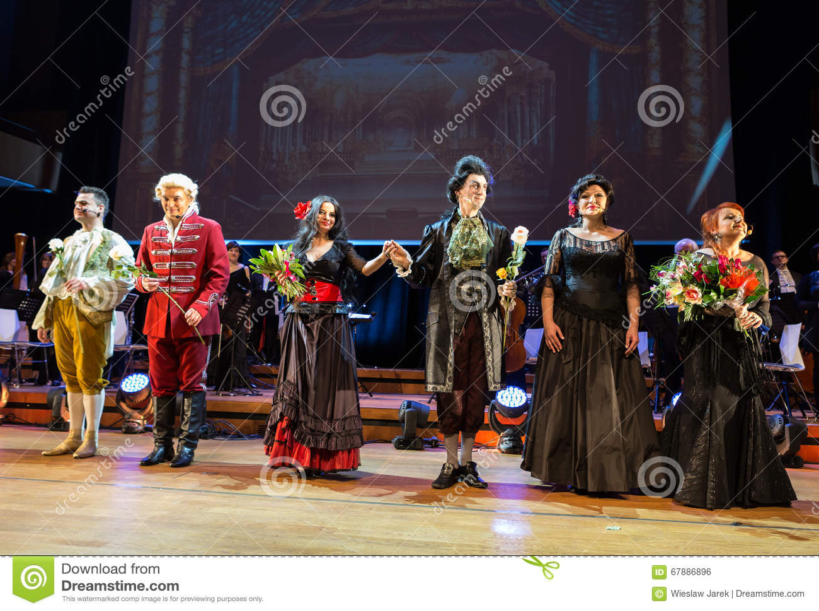 Spectacle featuring Filharmonia Futura and M. Walewska - Opera Is Life,