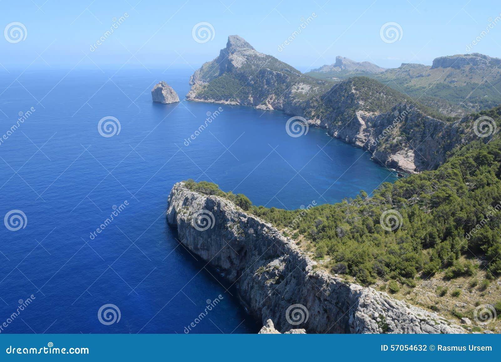 Spectaculaire mening van Formentor op Majorca
