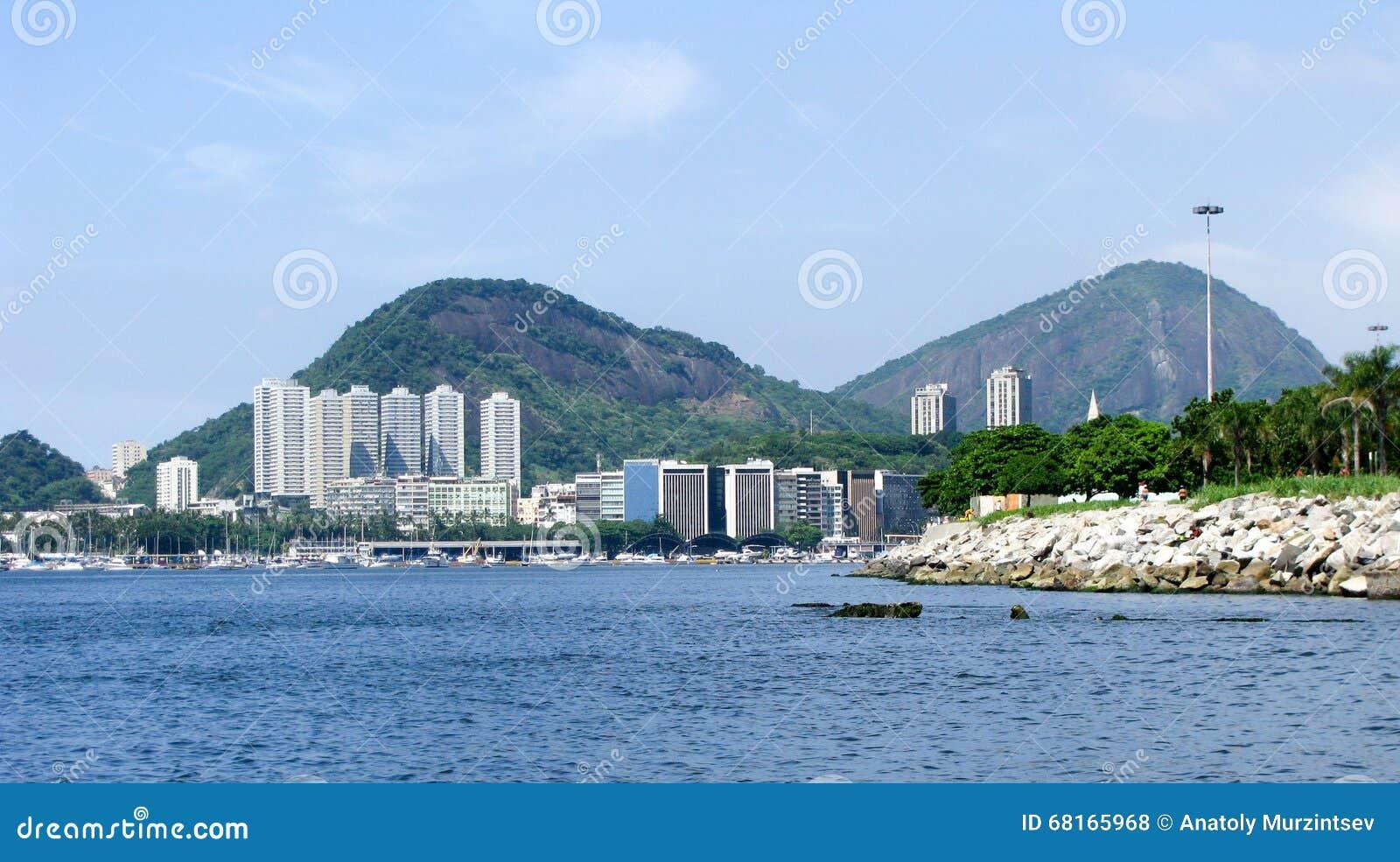 Spectacular panorama of Rio de Janeiro