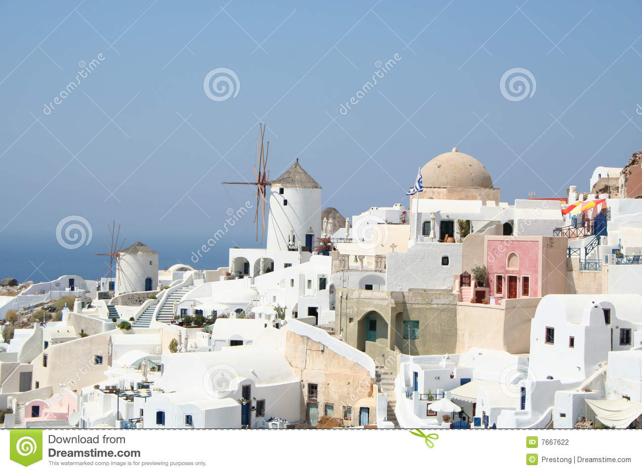 Spectacular Santorini. Stock Photography - Image: 7667622