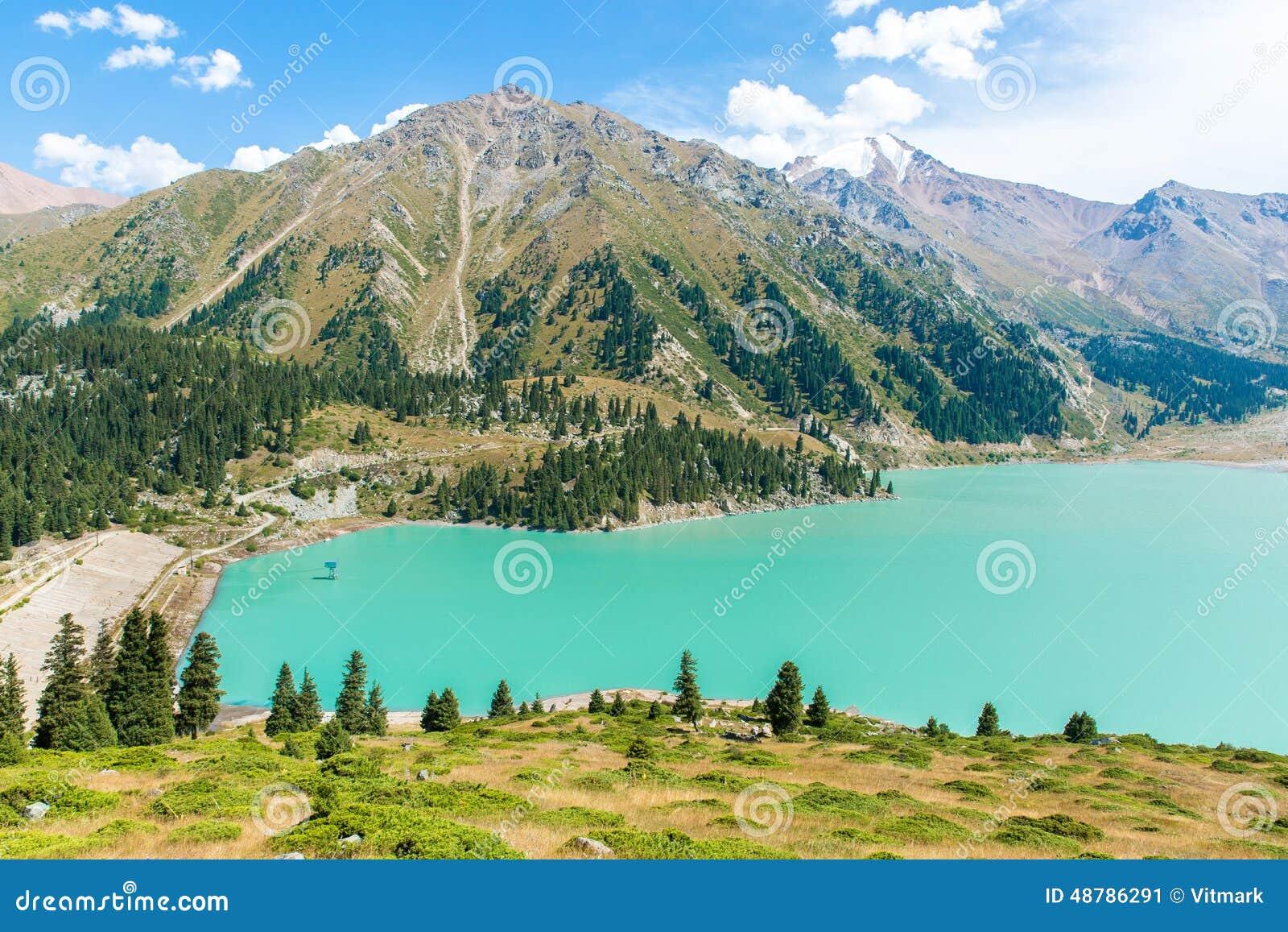 Spectacular Scenic Big Almaty Lake , Mountains In Almaty ... - photo#43