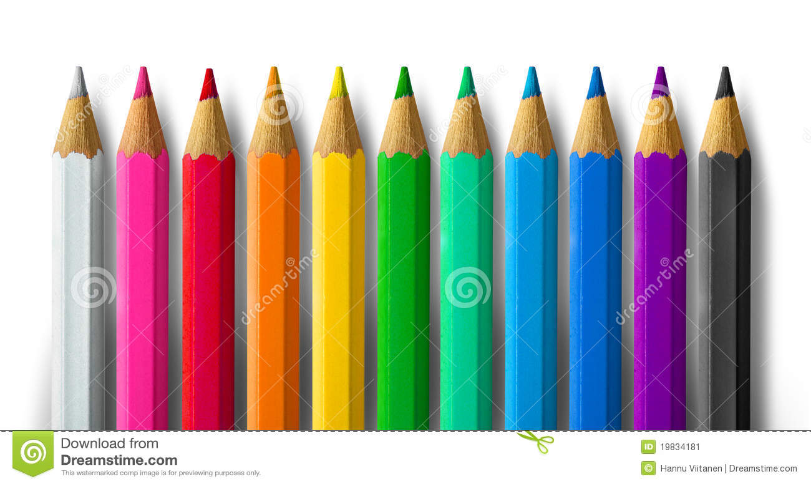 spectre de crayon de couleur image stock image 19834181. Black Bedroom Furniture Sets. Home Design Ideas