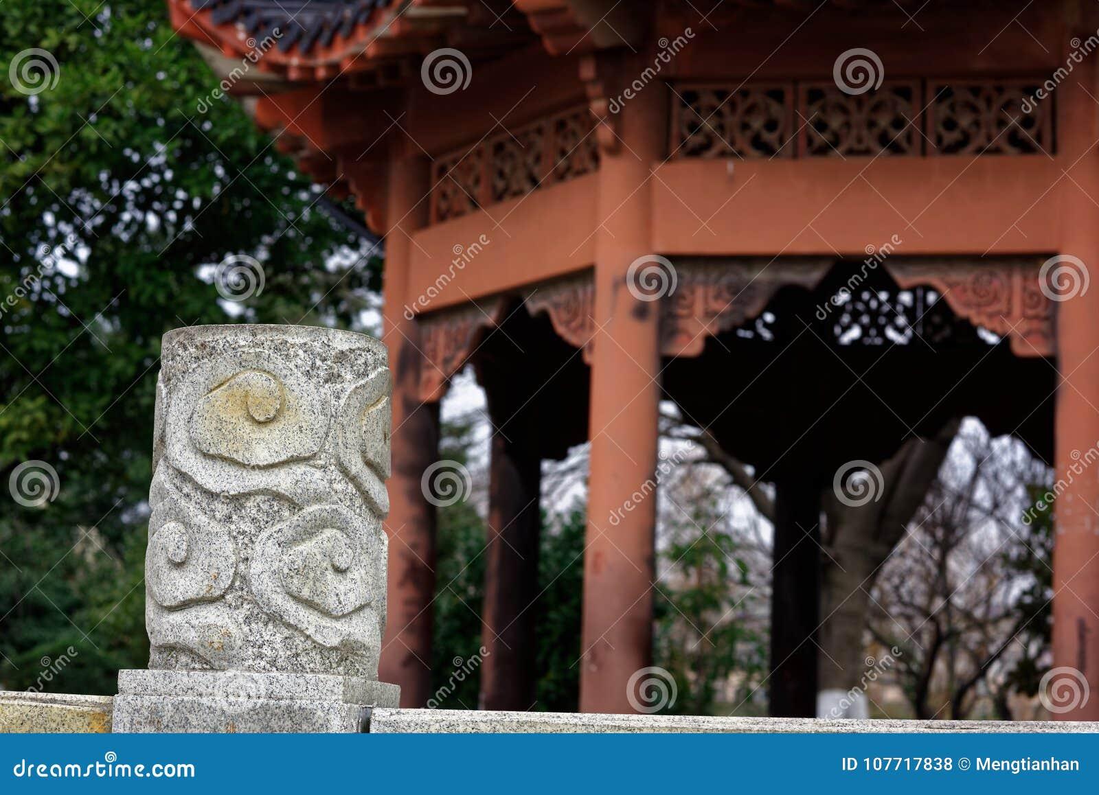 Spectre de découpage en pierre de colonne-Qingyun de moirage