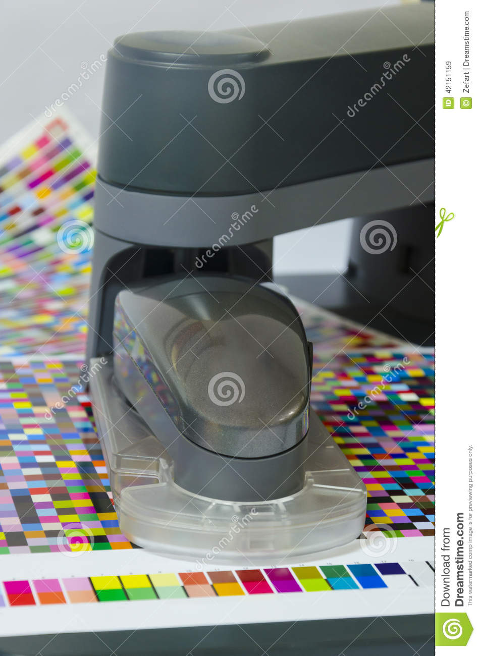 Spectrophotometer robot stock image  Image of automatic