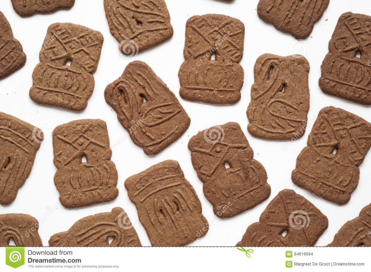 Speculaas- Dutch Cookies Stock Photo - Image: 64616694