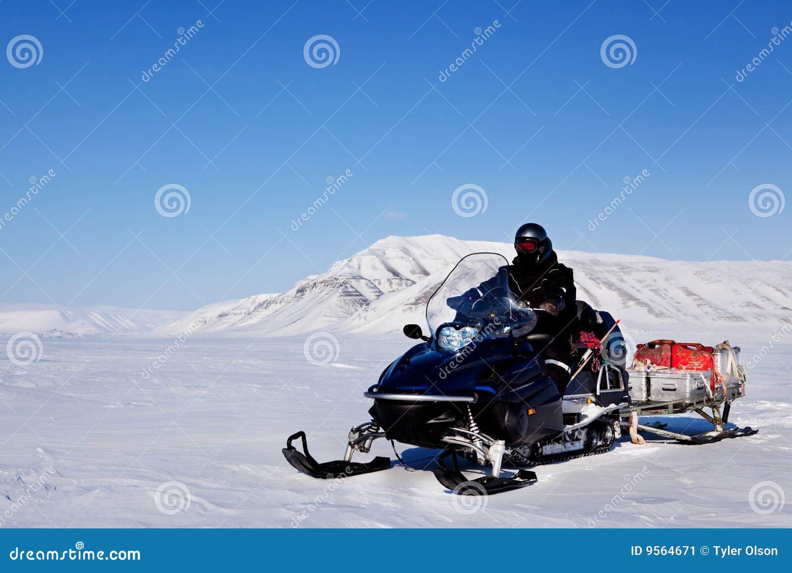 Spedizione di Snowmobile