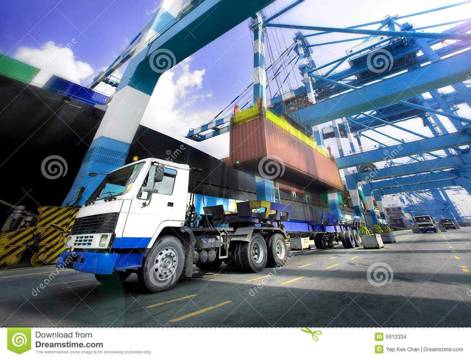 Spedycyjny portu