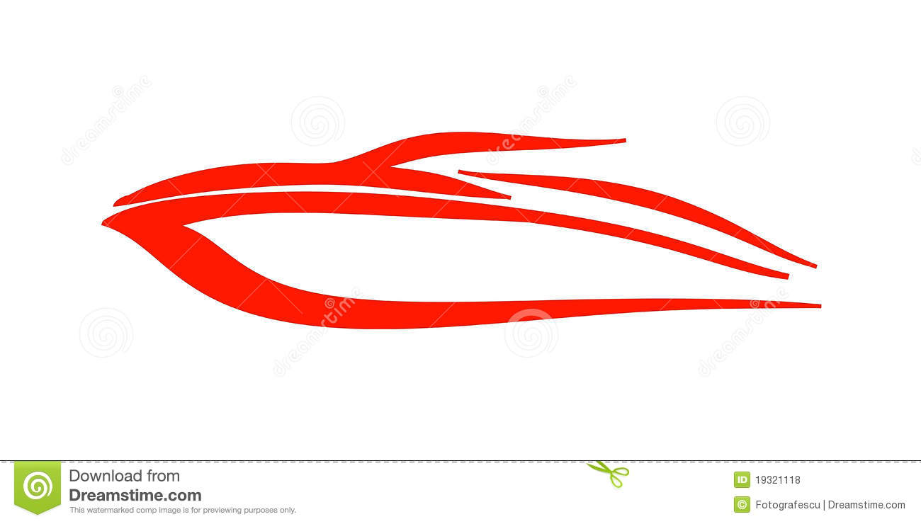 Speed Boat Logo Royalty Free Stock Photos - Image: 19321118