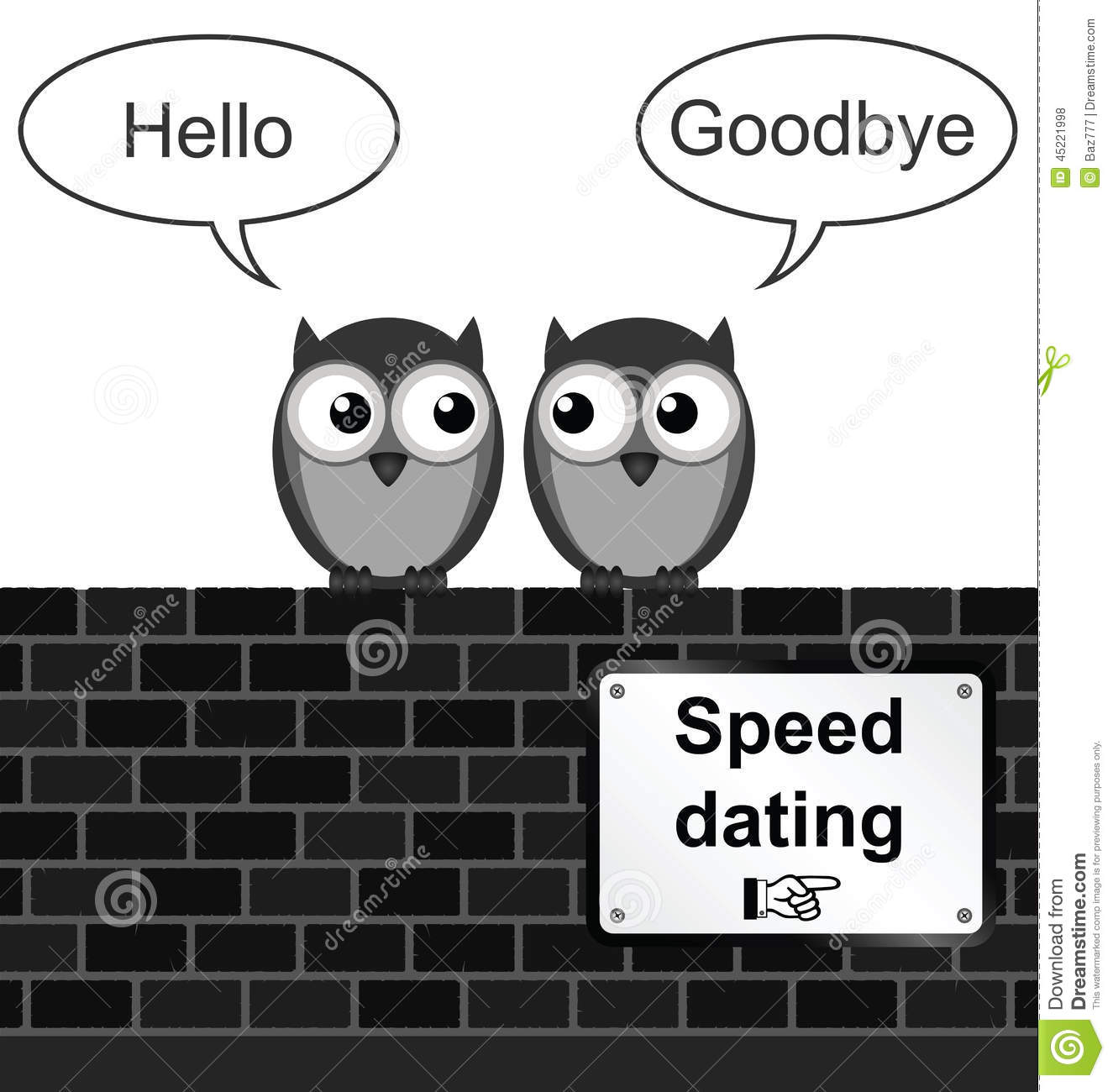 Speed dating clock