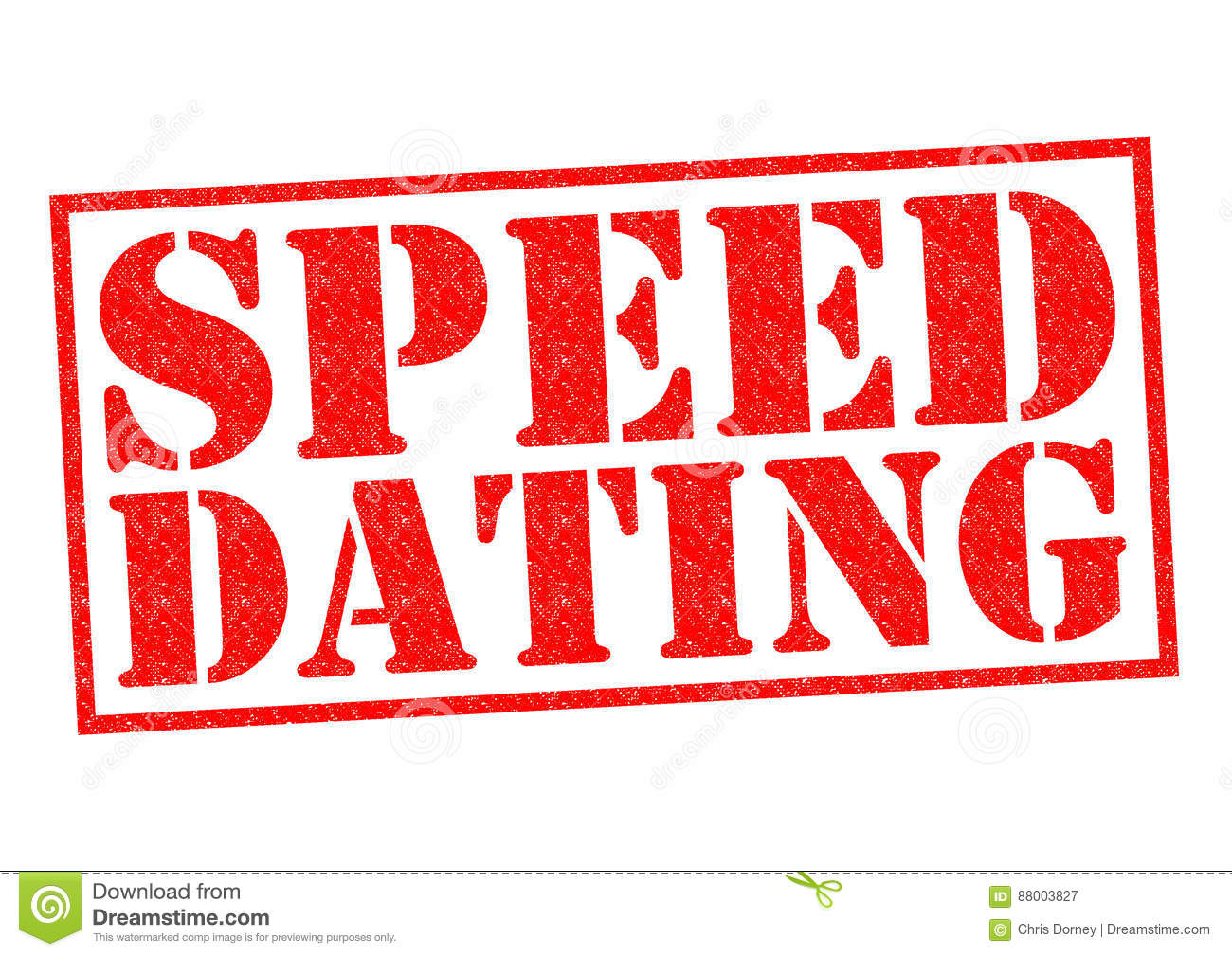 Speed dating graphics