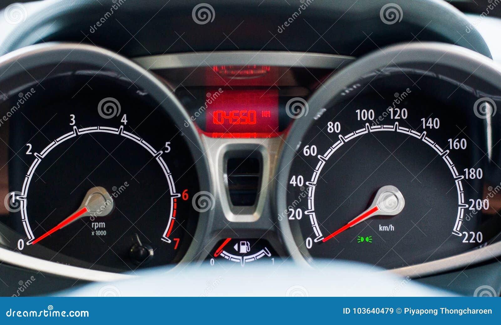 A Speed Meter Is Gauge That Measures And Displayscar Dashboard