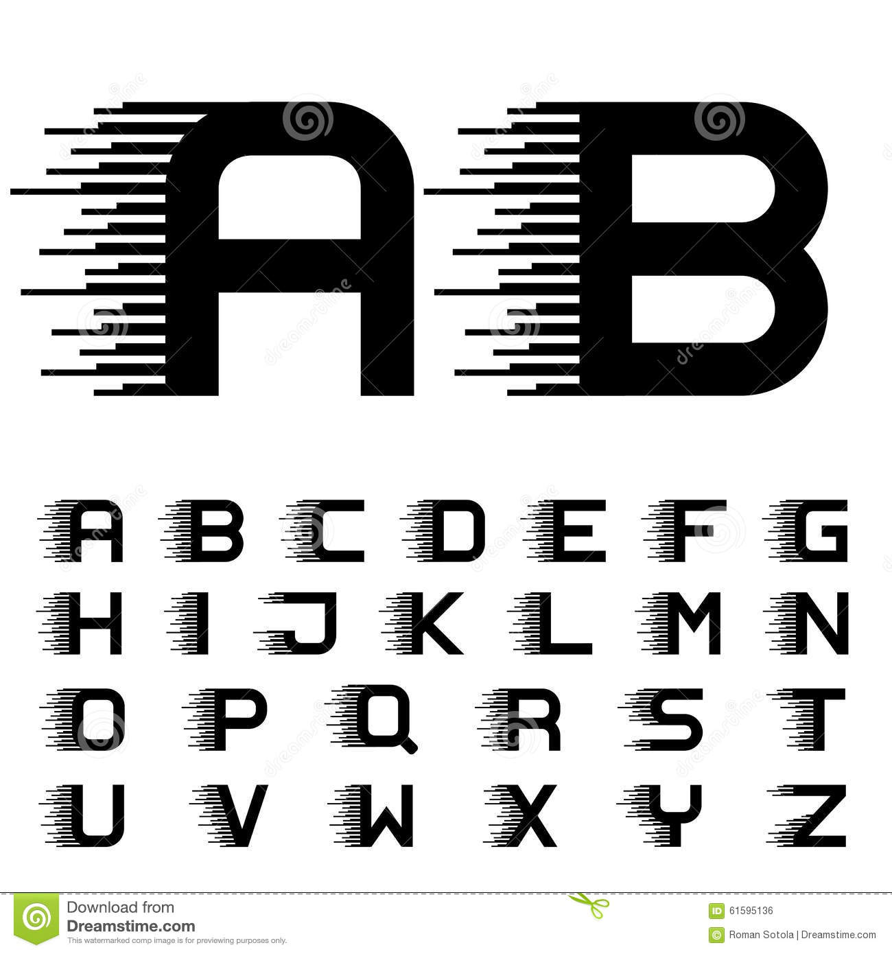 speed writing alphabet letters