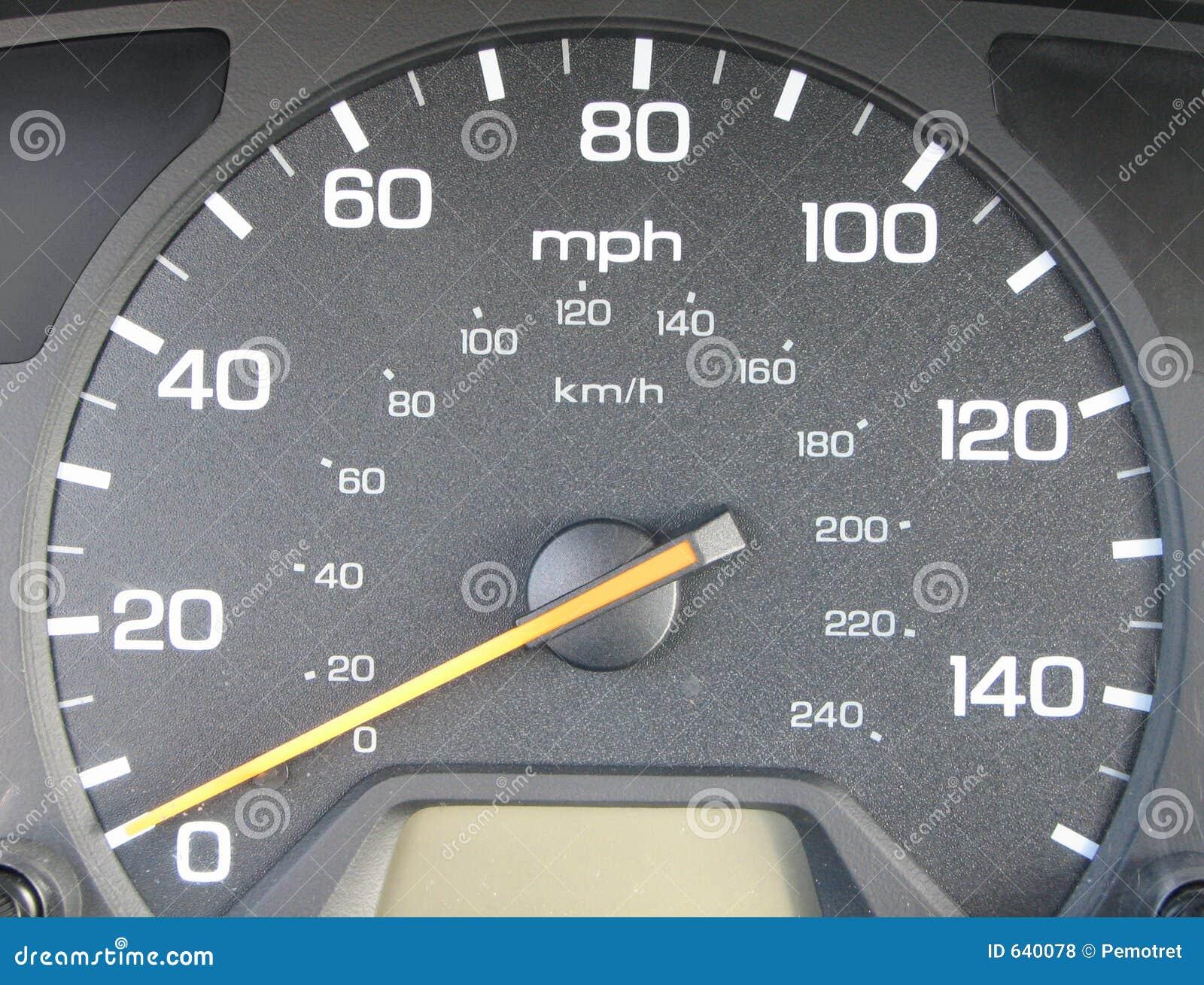 Speed O Meter stock photo  Image of speeding, accident - 640078