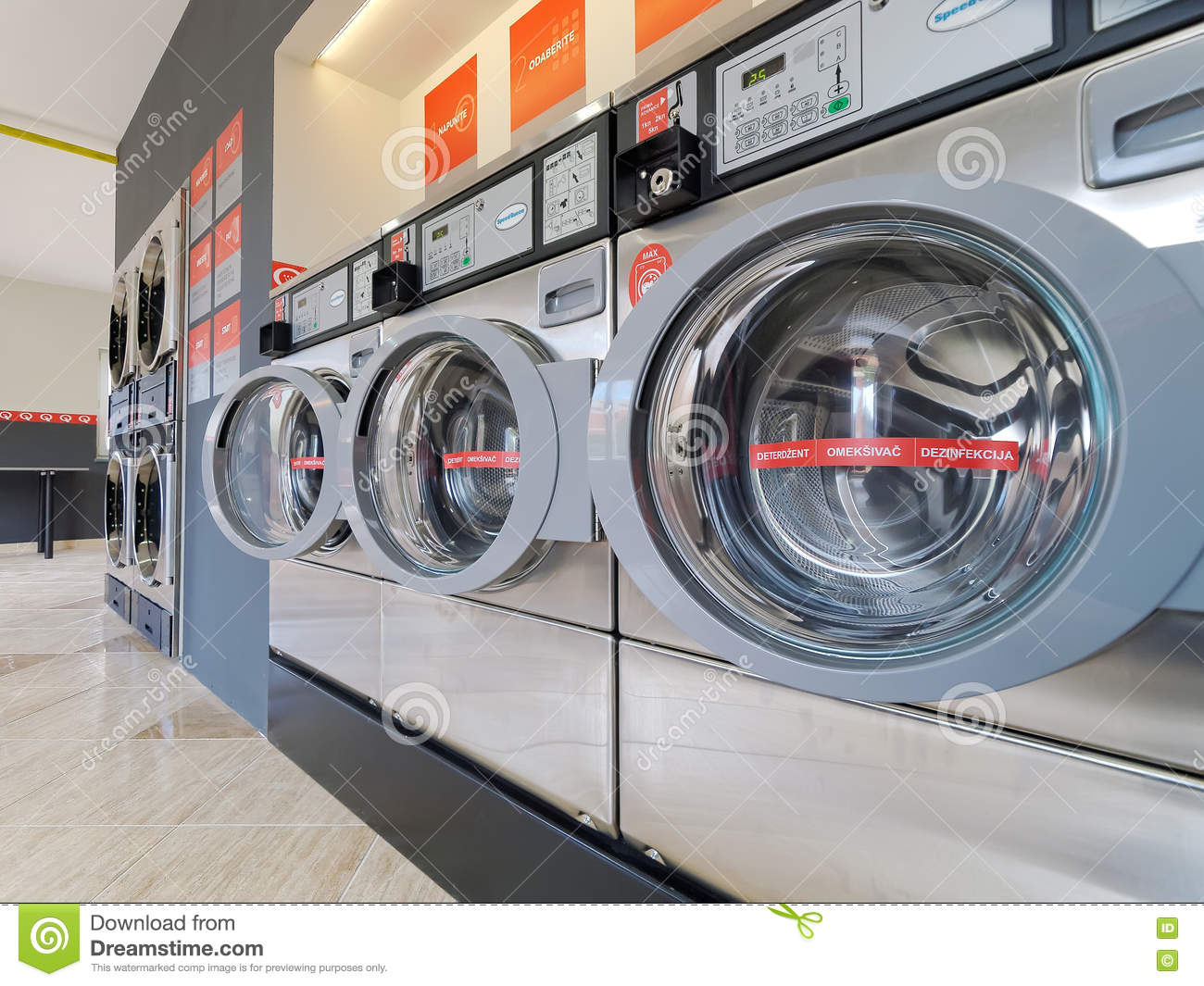 Speed Queen Washing And Drying Machine Editorial Photo Cartoondealer Com 71111087