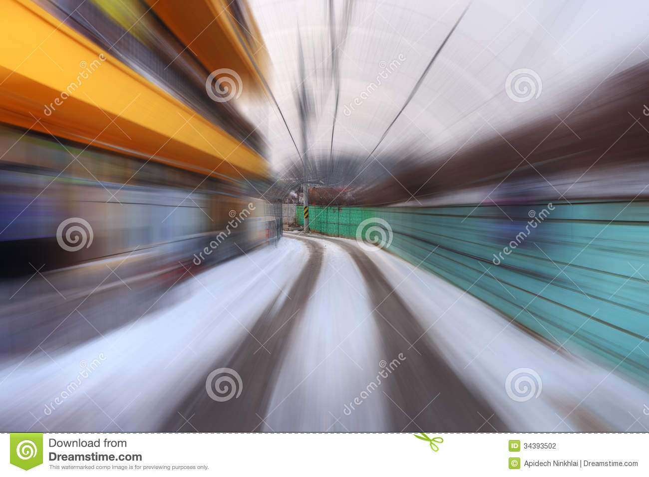 Speed Up Stock Photography - Image: 34393502speed town