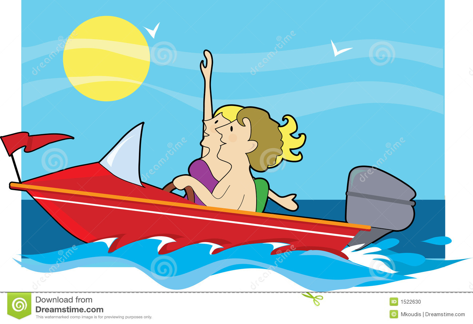 boat ride clipart - photo #4