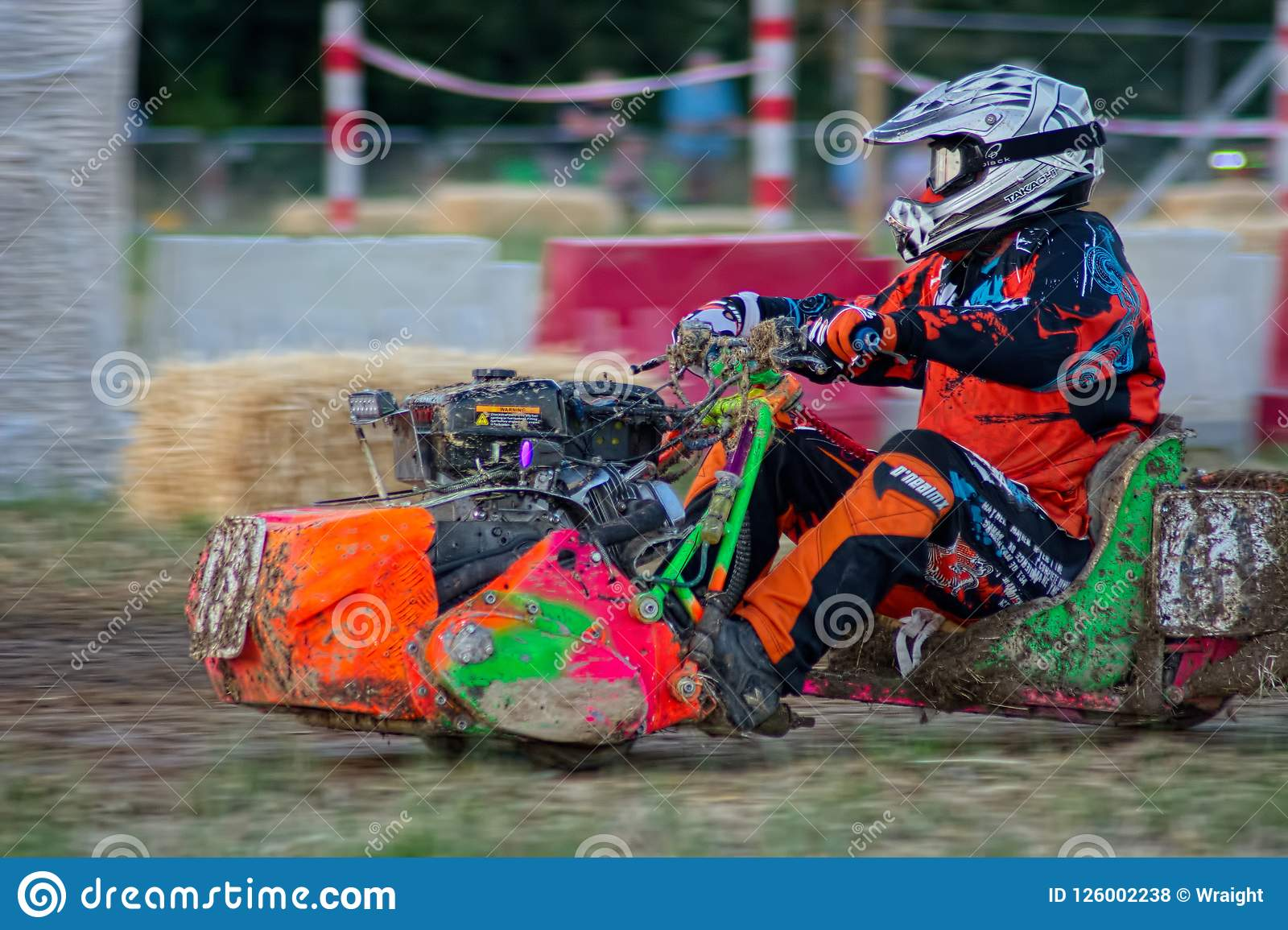Lawn Mower Racing >> Lawn Mower Racing Editorial Stock Photo Image Of