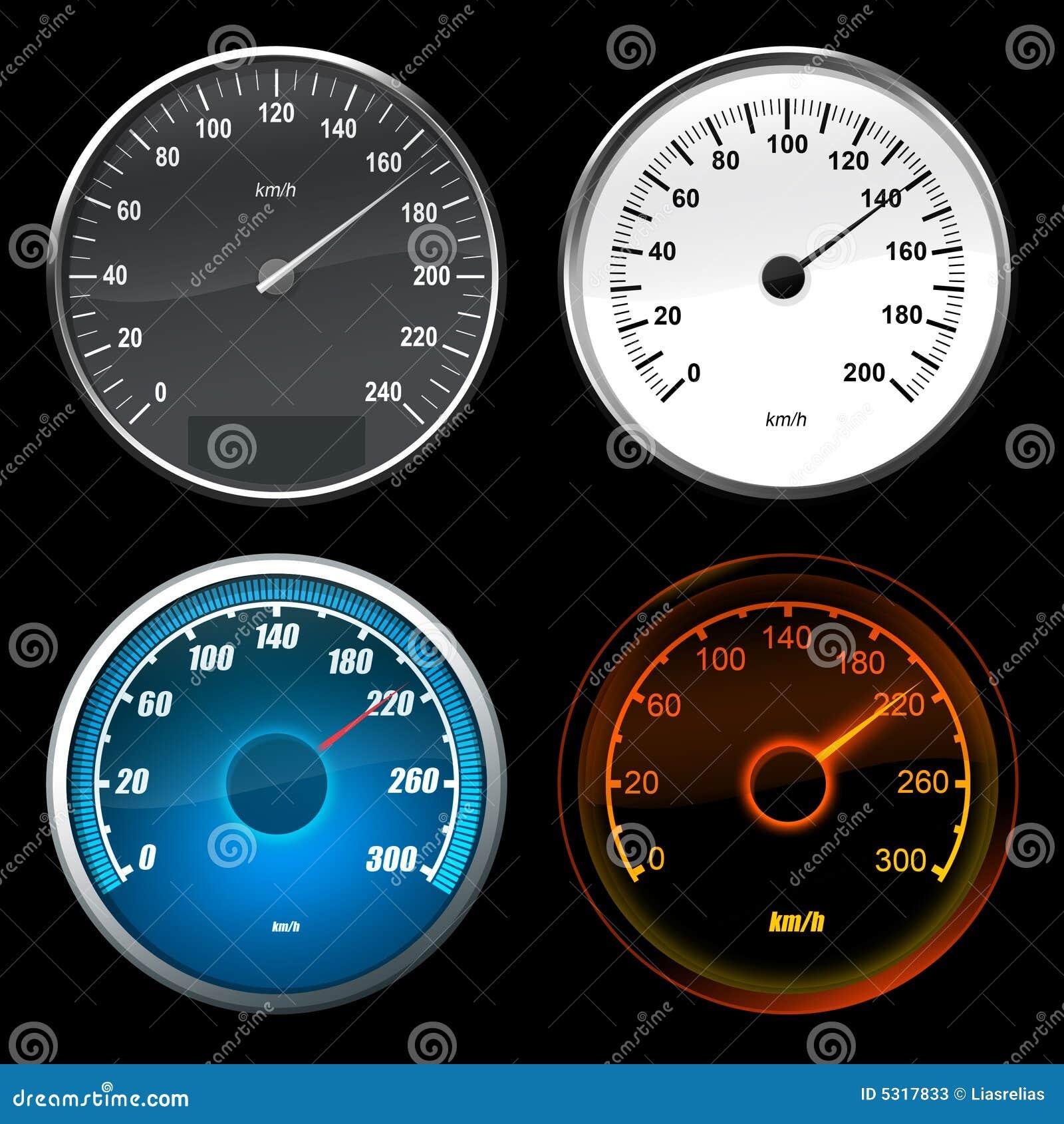Car Stock Photos: Speedometer Car Stock Photos