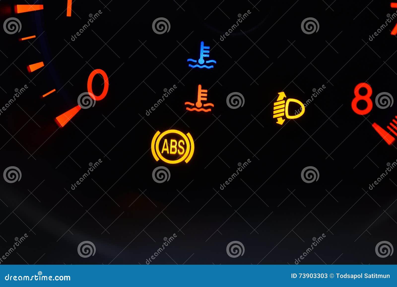 Speedometer In Car Stock Image Image Of Symbol Speedometer 73903303