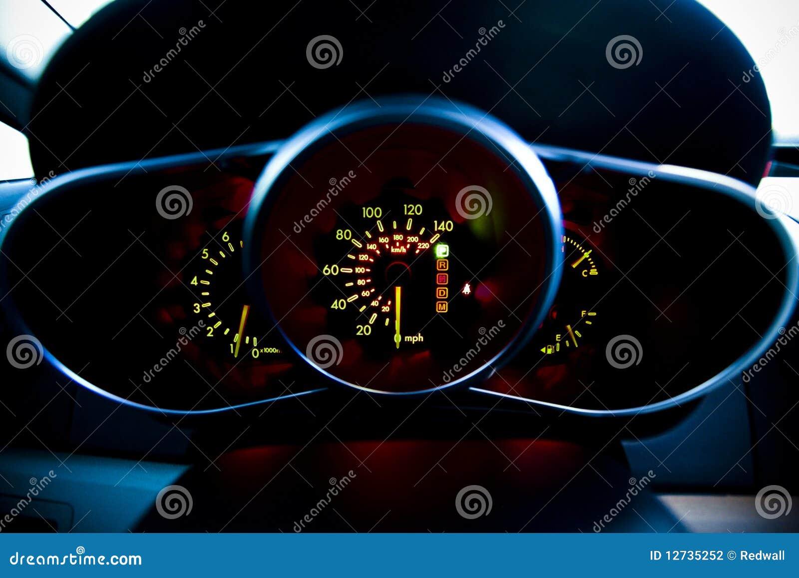 how to fix car speedometer light