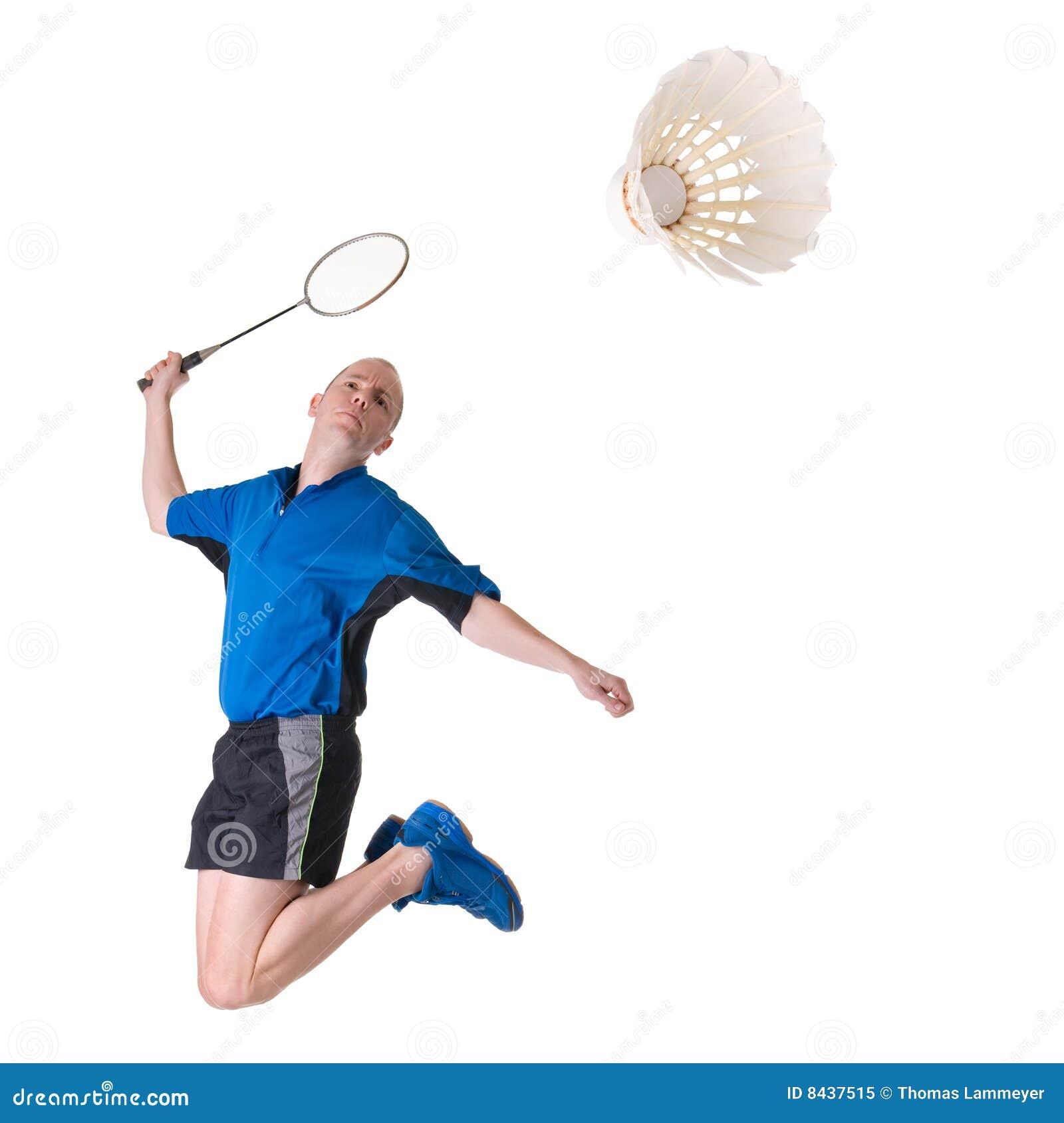 Speel badminton